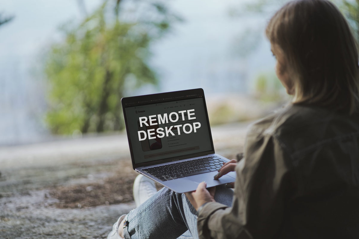 How does remote desktop work? What is rdp?