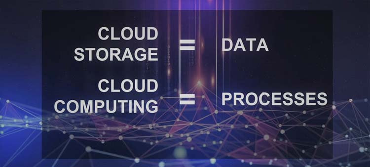 what is the diffence cloud computing vs cloud storage