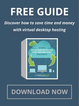 Cyberlink - Virtual Desktop Hosting Header