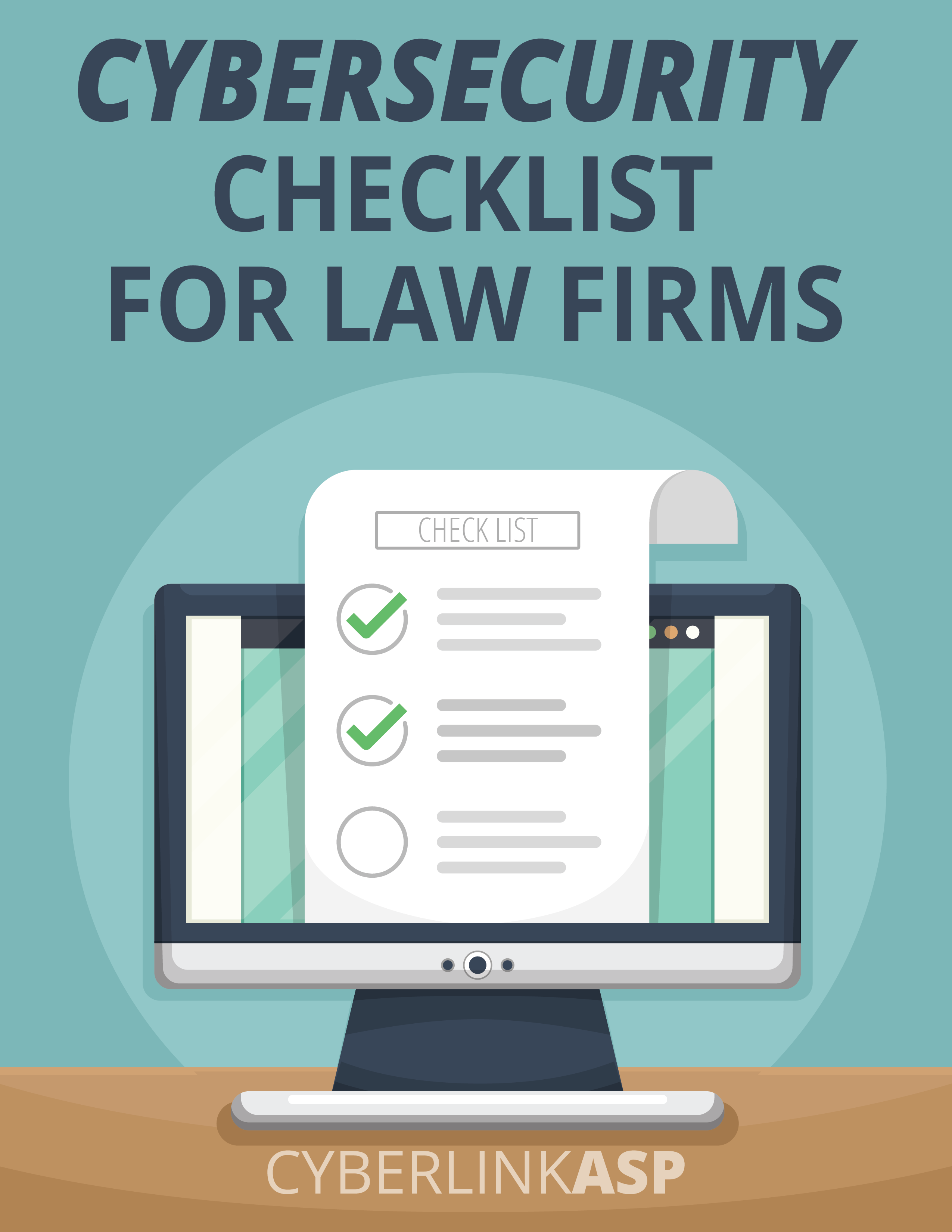 Cybersecurity Checklist For Law Firms Thank You Cyberlinkasp